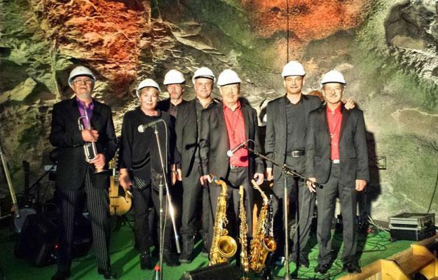 Barrelhouse Jazzband untertage