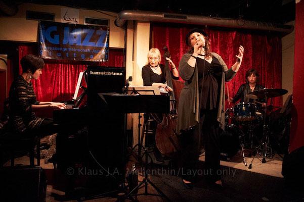 Barbara Bürkle Quartett (Barbara Bürkle, Gee Hye Lee, L.H.)