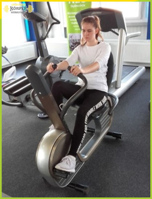Cardio Traininng - Fahrrad Grafik 2 - Fitness Studio Friesoythe