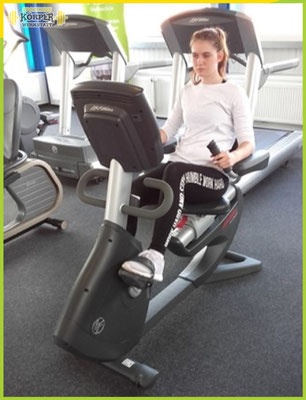 Cardio Traininng - Fahrrad Grafik 1 - Fitness Studio Friesoythe