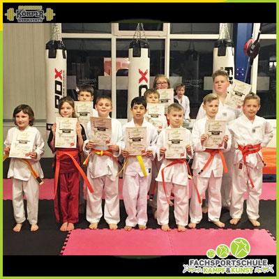 Kampfsport Gürtelprüfung in der Kampfsportschule - Fachsportschule Kampf & Kunst Friesoythe V001