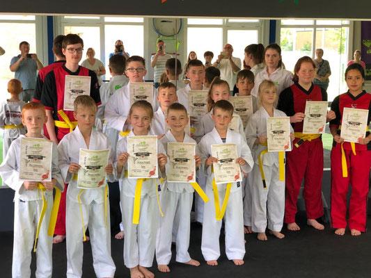 Sommer Gürtelprüfung - Kinder Karate in Friesoythe - Bild 002