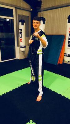 Co Trainer in der Fachsportschule Kampf und Kunft - Marvin Degen