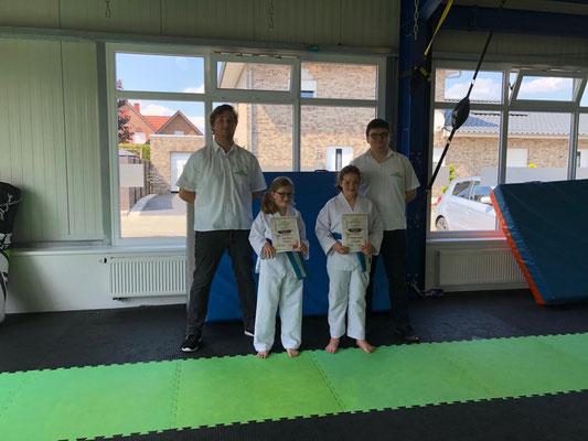 Sommer Gürtelprüfung - Kinder Karate in Friesoythe - Bild 005