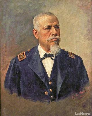 José Eloy Alfaro Delgado, general de ejército nacido en el cantón Montecristi, expresidente de la República del Ecuador y conductor de las reformas políticas liberales de principios del siglo XX.