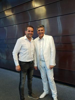 Gerhard Hermann mit Renato von den Paldauern