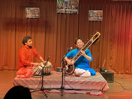 北インド古典音楽/シタール・田中峰彦、タブラ・アシュウニ・クマール・ミシュラ