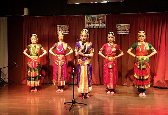 南インド古典舞踊/モガリ真奈美&マルガユニティー