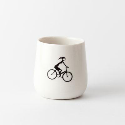 Fahrradtasse, geschliffen