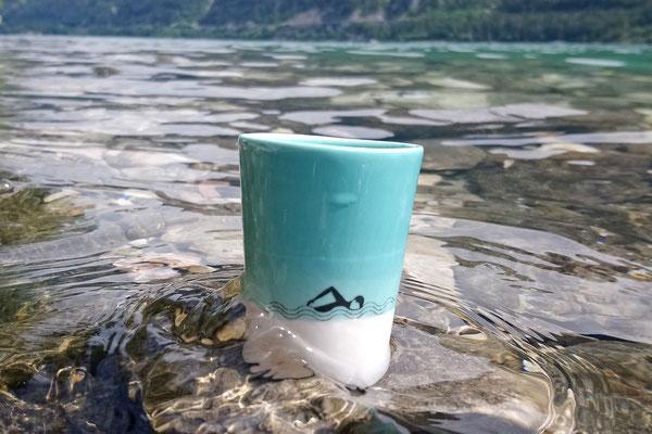 Espressotasse, Schwimmer