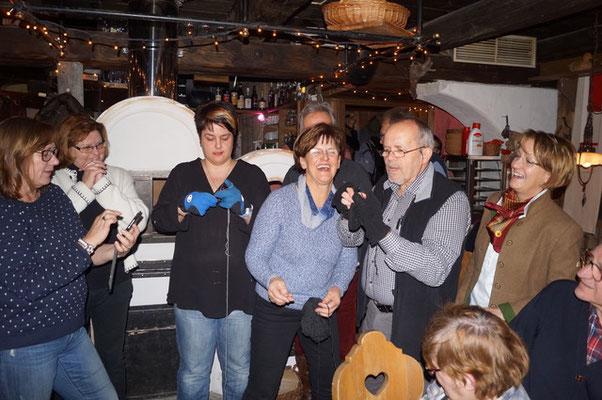 Die Geburtstagsüberraschungen kennen keine Grenzen - Volksliedchor Bad Kleinkirchheim