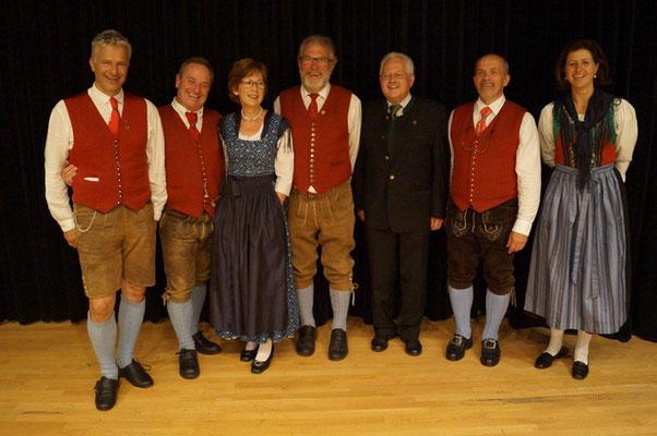 Ehrung für verdiente ChorsängerInnen - Volksliedchor Bad Kleinkirchheim