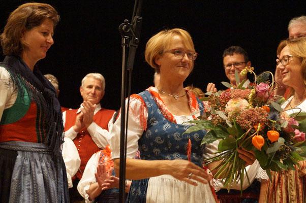 Chorleiterin Ulrike Maierbrugger - Volksliedchor Bad Kleinkirchheim
