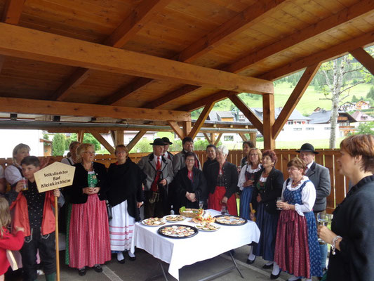 Beim Kranzelsingen sind wir gerne dabei... - Volksliedchor Bad Kleinkirchheim
