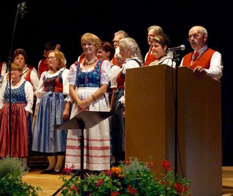 Sprecher bei allen Auftritten Gerhard Pleschberger - Volksliedchor Bad Kleinkirchheim
