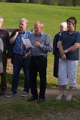 Wie immer dichtet Gerhard und es kommt sein Talent auf die lustigste Weise zum Vorschein - Volksliedchor Bad Kleinkirchheim