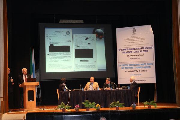 Relatore Prof. Lachezar Filipov - Astrofisico - Bulgaria