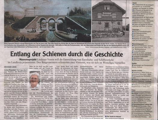 Westallgäuer 31.01.2018  Präsentation im Bayerischen Gemeindetag