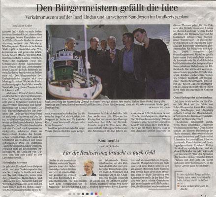Lindauer Zeitung 31.01.2018  Präsentation im Bayerischen Gemeindetag