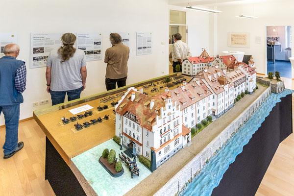 Eröffnung der Ausstellung am 28.Juni 2021 (Foto J.Wisckow)