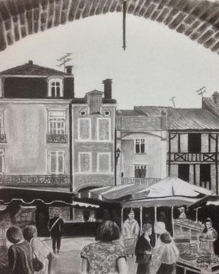 Project Mussorgski: de Markt in Limoges