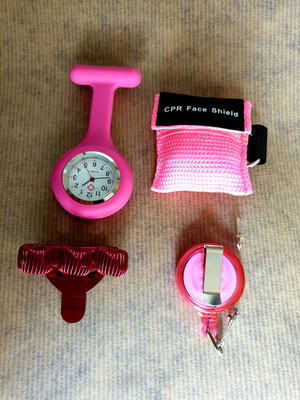 verpleegkundige set roze