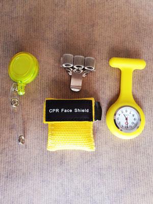 Verpleegkundig cadeau geel