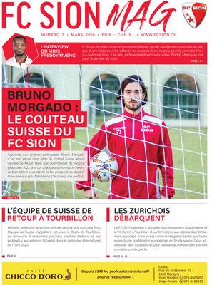 FC Sion MAG / Bruno Morgado // Photo © Nathalie Pallud