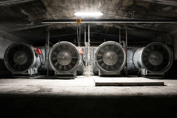 Tunnel du Grand-St-Bernard - Photo © Nathalie Pallud 2017