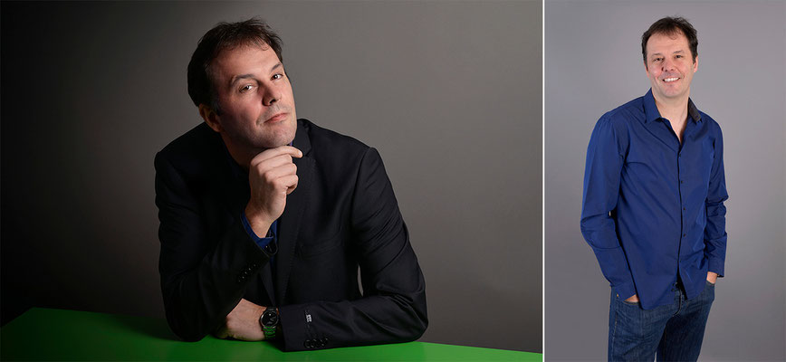 Photo visu professionel Benoît Carron- Photo © Nathalie Pallud - Palprod.ch