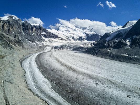 Glacier de Corbassière // Photo © Nathalie Pallud