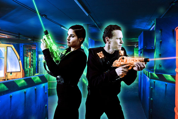 Bowland - Laser Game - Photo © Nathalie Pallud - Palprod