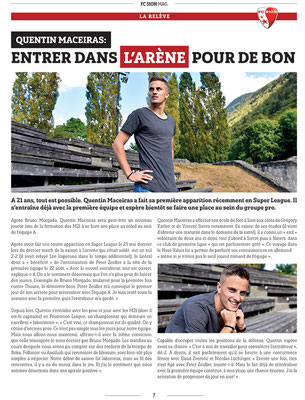 Mag FC Sion N°4 // Photo © Nathalie Pallud