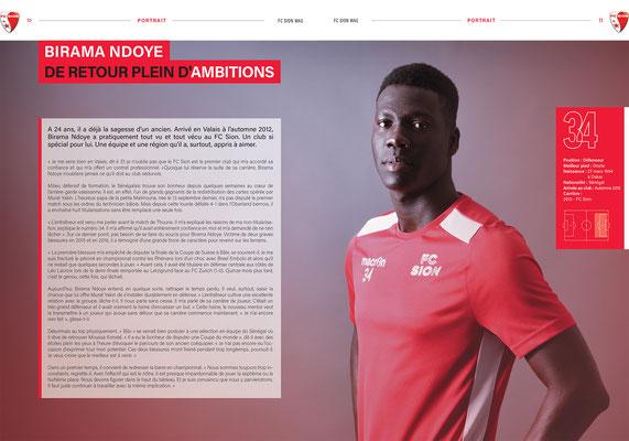FC Sion Mag // Photos © Nathalie Pallud