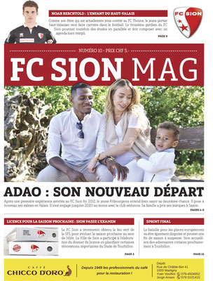FC Sion Mag // Photo © Nathalie Pallud