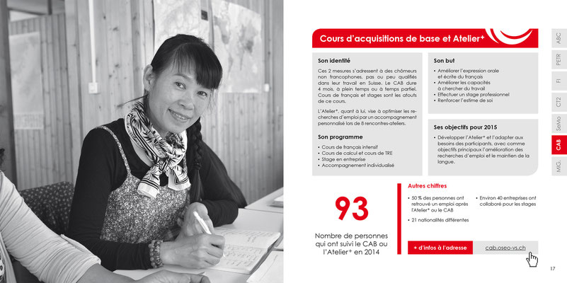 OSEO Valais - Rapport annuel - Photo © Nathalie Pallud - Palprod