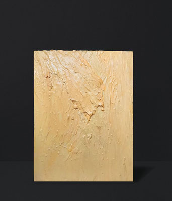 SOOTHING YELLOW | selfmade paint on canvas | 71 x 102 cm | 300 CHF