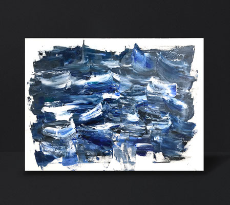 HEALING SEA | oil on canvas  | 92 x 65 cm | 200 CHF