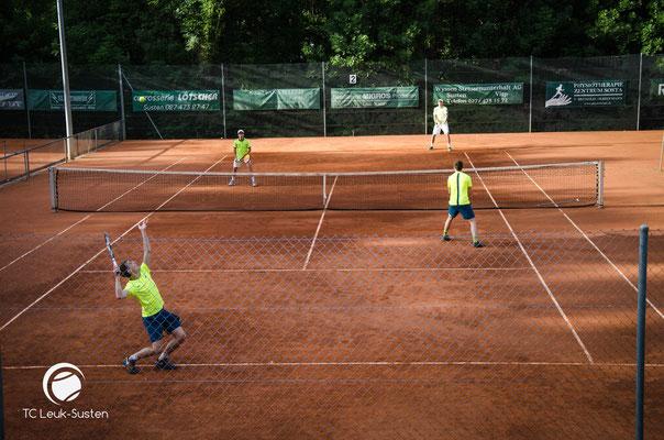 Tennis Wallis Doppel