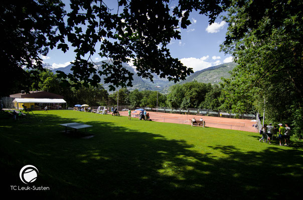 Tennis Club Leuk-Susten, Wallis