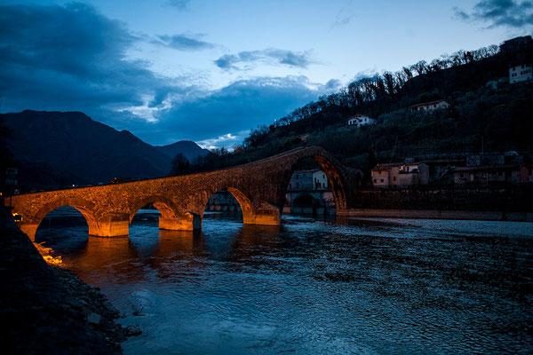 Ponte del Diavolo, Borgo a Mozzano (Lucca), 2015