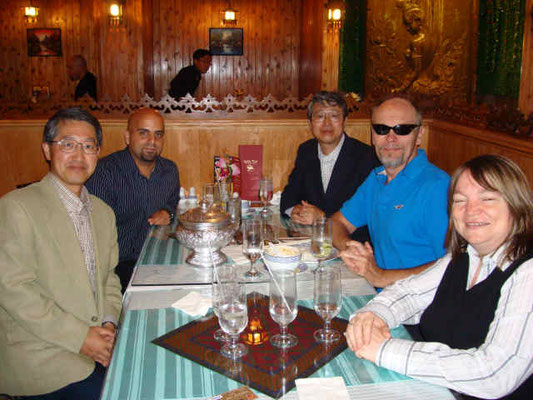Lunch with Dr. Glenwood Irons, Jacqueline Sanders, and John Villella at Sahla Thai Restaurant  September 19, 2007
