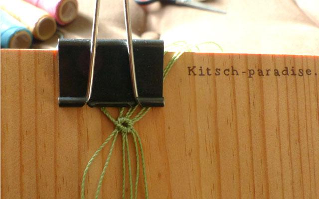 kitsch-paradise, artisans créateur sur un projet d'accessoire de cheveux #étape 1
