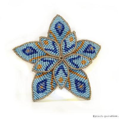 Kitsch-paradise artisans créateurs, Barrette fleur