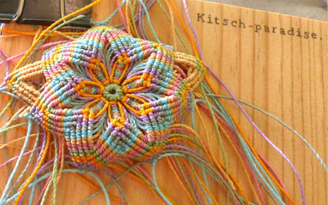 kitsch-paradise, artisans créateur sur un projet d'accessoire de cheveux #étape 5