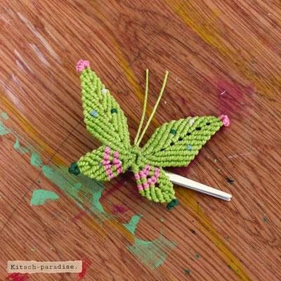 Kitsch-paradise artisans créateurs, Barrette papillon