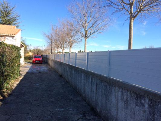 Brise vue PVC Gard