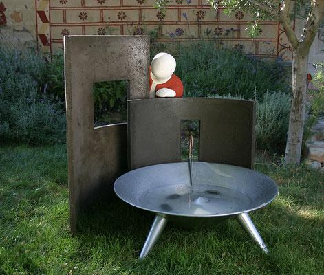 Fontaine originale pour jardin ou véranda
