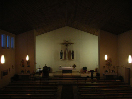Vorzustand der Kirche