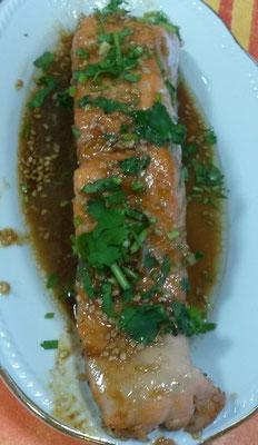 Pavé de saumon caramélisés au miel
